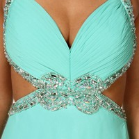 Pre-Order Acacia- Mint Long Prom Dress