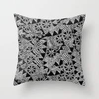 puzzle Throw Pillow by Marianna Tankelevich
