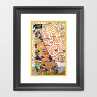 Love & Expectation - Gustav Klimt Framed Art Print by BeautifulHomes