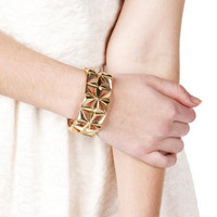 NEVADA GEOMETRIC CUTOUT BRACELET