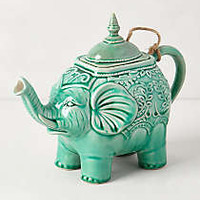 Losin Teapot by Anthropologie Green Teapot Serveware