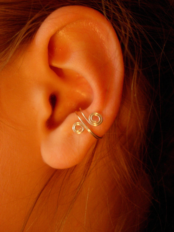 Ear Cuffs, Set of 3 by jhammerberg on Etsy