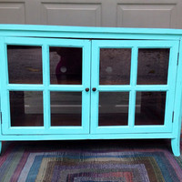 Shabby Chic or Bohemian Chic Television Stand- Entertainment Center