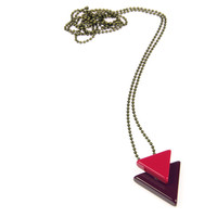 I liked this design on #Fab. Otto Necklace Fuchsia