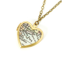 I liked this design on #Fab. NYC Locket Necklace
