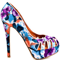 Dereon's Multi-Color Marsbell - Orange for 59.99 direct from heels.com