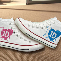 One Direction Converse Shoes