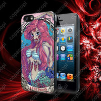 The Zombie Ariel Mermaid Princess case for iPhone 4, 4S, 5, 5S, 5C and Samsung Galaxy s2, S3, S4