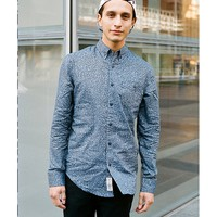 Staple Scribble Button-Down Shirt - Urban Outfitters