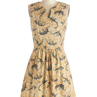 Dino Bones About It Dress | Mod Retro Vintage Dresses | ModCloth.com