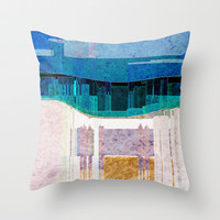 CITYSCAPE Throw Pillow by Catspaws