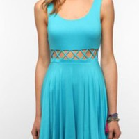 UrbanOutfitters.com > Pins and Needles Knit Front Cutout Circle Dress