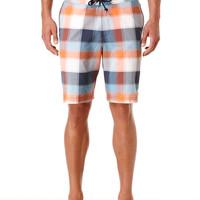 FIXED BOARD LARGE PLAID SWIM SHORT