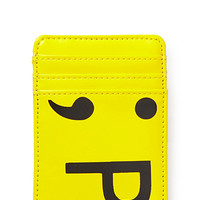 Vertical Emoticon Card Holder