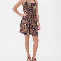 Women's All-Over Print Dressin Orange/