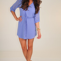 Be All Mine Dress: Lavender