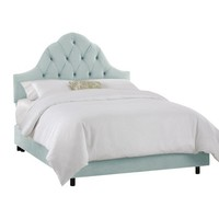 Toulouse Velvet Bed
