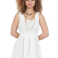 White Skater Dress | Lilly's Kloset