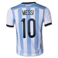 Argentina 2014 MESSI Youth Home Soccer Jersey - WorldSoccerShop.com