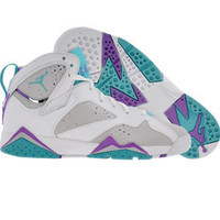 Air Jordan 7 VII Retro (neutral grey / mineral blue / bright violet / white) 442960-001