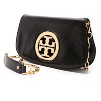 Logo Clutch with Chain