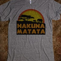 No Worries Tree of Life Hakuna Matata T-Shirt