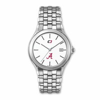 "Alabama Crimson Tide ""Classic"" Model Quartz Watch. Alabama Crimson Tide Jewelry"