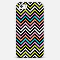 Colorful Modern Chevron iPhone 5s case by Organic Saturation | Casetagram