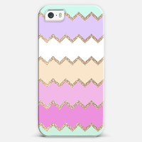 Cute summer *** AVALON ***  chevron glitter and pastel iPhone 5s case by Monika Strigel | Casetagram