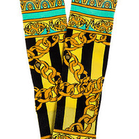 The Gold Links Santigold Sock