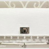 Annabelle Bridal Clutch {Handmade by Lw.}