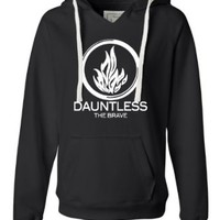 Womens Dauntless The Brave Deluxe Soft Hoodie