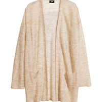Mohair-blend Cardigan - from H&M