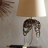 Beaded Glass Lamp Base