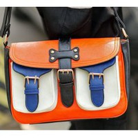 Wholesale Sales promotion new style popular ladyâ??s shoulder bags C-M28-061 orange  - Lovely Fashion