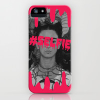 Frida's selfie iPhone & iPod Case by Sara Eshak