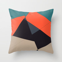 Over the Town Throw Pillow by DuckyB (Brandi)