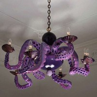 Sea-sational Chandeliers - Jonathan Levine's Octopus Lighting (GALLERY)