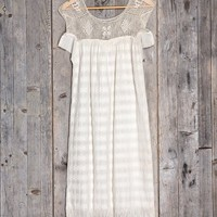 Vintage Enlace Crochet Dress - Urban Outfitters
