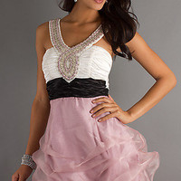 Short V-Neck Prom Dress
