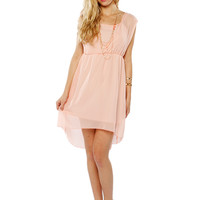 Papaya Clothing Online :: WRAP NECKLACE CHIFFON DRESS