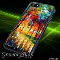 Summer Forest Rain - iPhone 4/4S,iPhone 5/5S,iPhone 5C,Samsung Galaxy S3,Samsung Galaxy S4,Rubber Case,Accessories,Case - 040314CG04