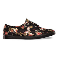 Vans Authentic Lo Pro Floral (Black)