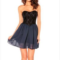 KPOPCITY Womens Discount Semi Formal Pretty Dress