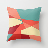 Strawberry Throw Pillow by DuckyB (Brandi)