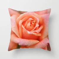 A Time to Bloom... Throw Pillow by Lisa Argyropoulos