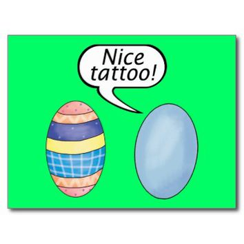 Nice Tattoo Easter Eggs