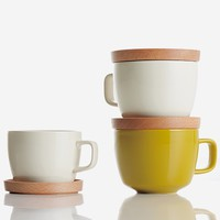 Neighbors Tea Set S - White