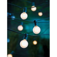 Room Essentials® Frosted Globe Lights (25ct)