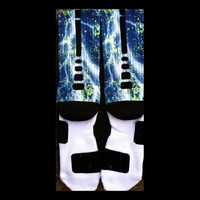 Penn State Custom Nike Elite Socks